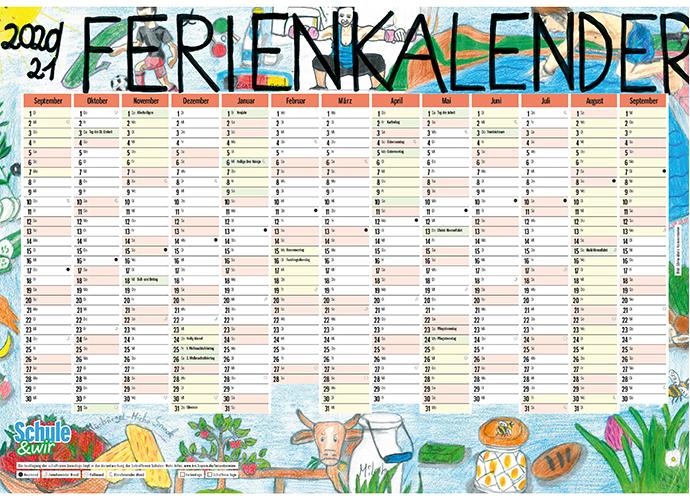 Schulkalender 2020 Ferien Bw 2021 / Excel Kalender 2020 ...